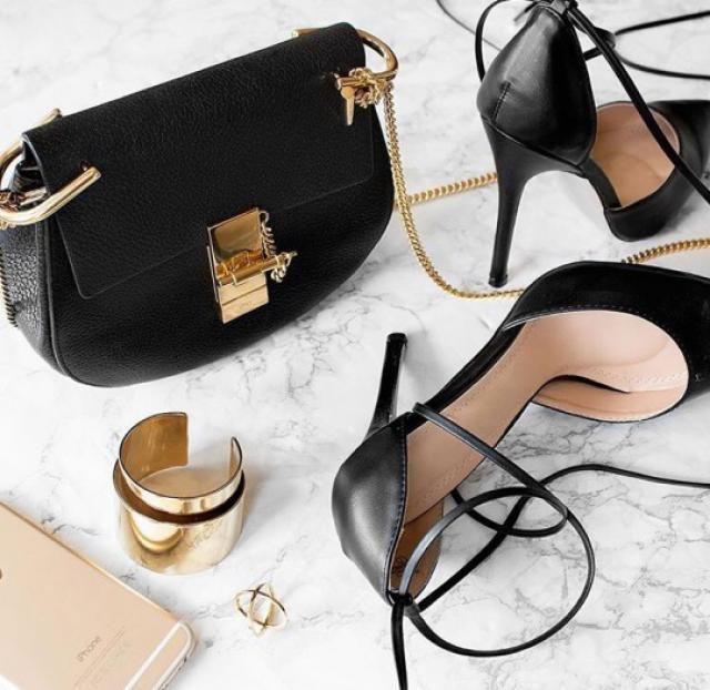 Beautiful Black Bag! do you like it? let me know in the comments!❤️❤️❤️❤️❤️❤️❤️❤️❤️                    …