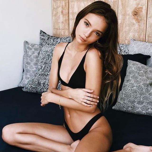black bikini perfect for this summer !