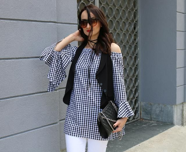 Gingham vibes..