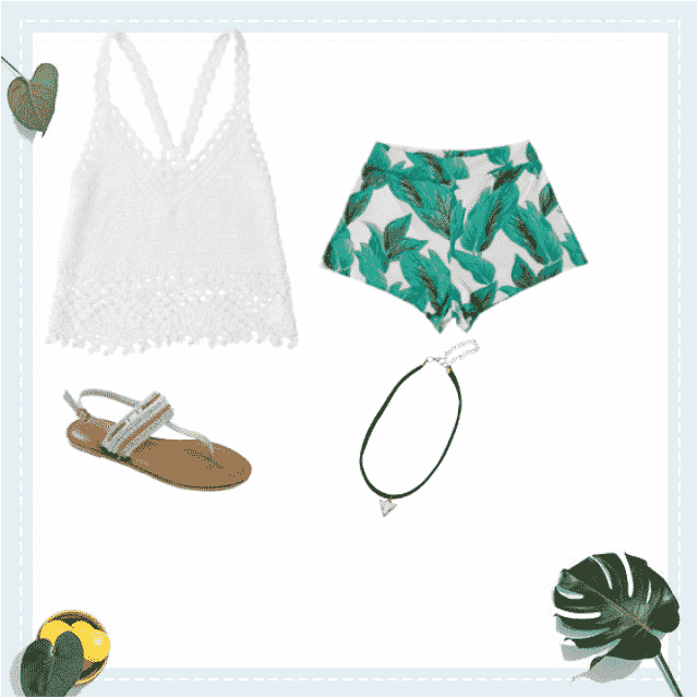 Cute outfit for a summer music festival!