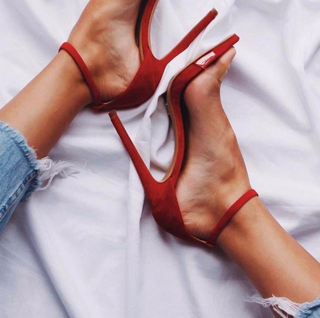 Classy Red Heels