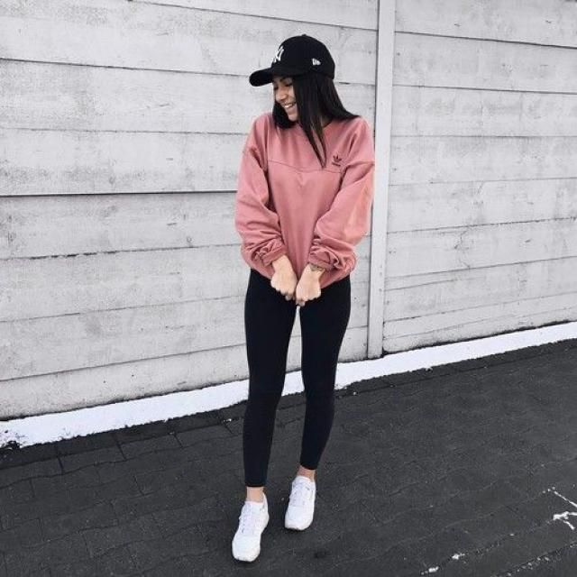 Perfect outfit for rainy day.