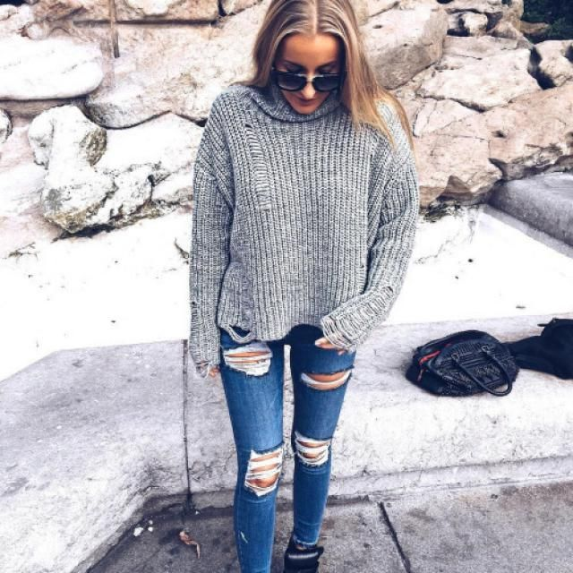 Beautiful sweater!! perfecto for autumn and winter!!!♥♥