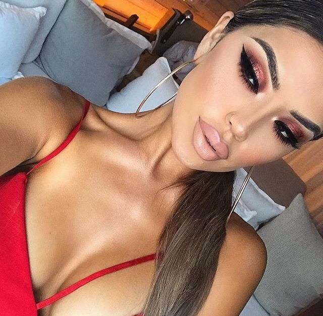 Achieve any  looks with   . How gorgeous is this even? Look for the red top in the  section of the page as well