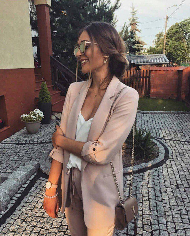 406f913318d9 Classy Beige Blazer #beige #blazer #style #classy #chic #l... | Z-Me ZAFUL  Community
