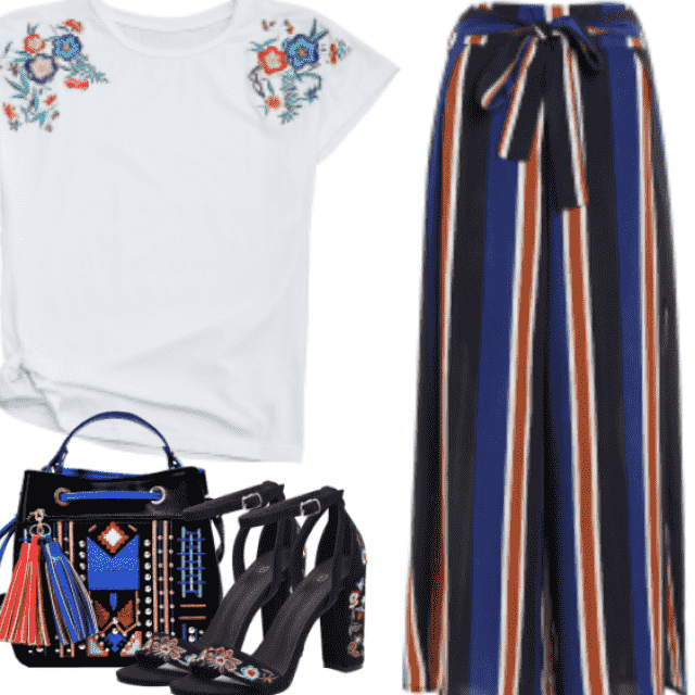 How to wear simple and bold look