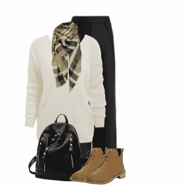 Cozy style for an Autumn day