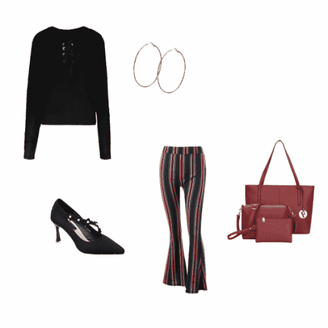 this cute style can take you anywhere, from a business meeting to a work lunch to a hot date!