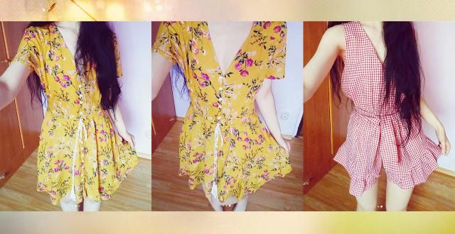 There is also blue colour available, but with a different floral pattern. Well, this yellow one has a floral pattern on…