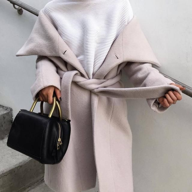 For those days when you need that thick caramel coat that matches with almost everything in your closet yet...makes you…