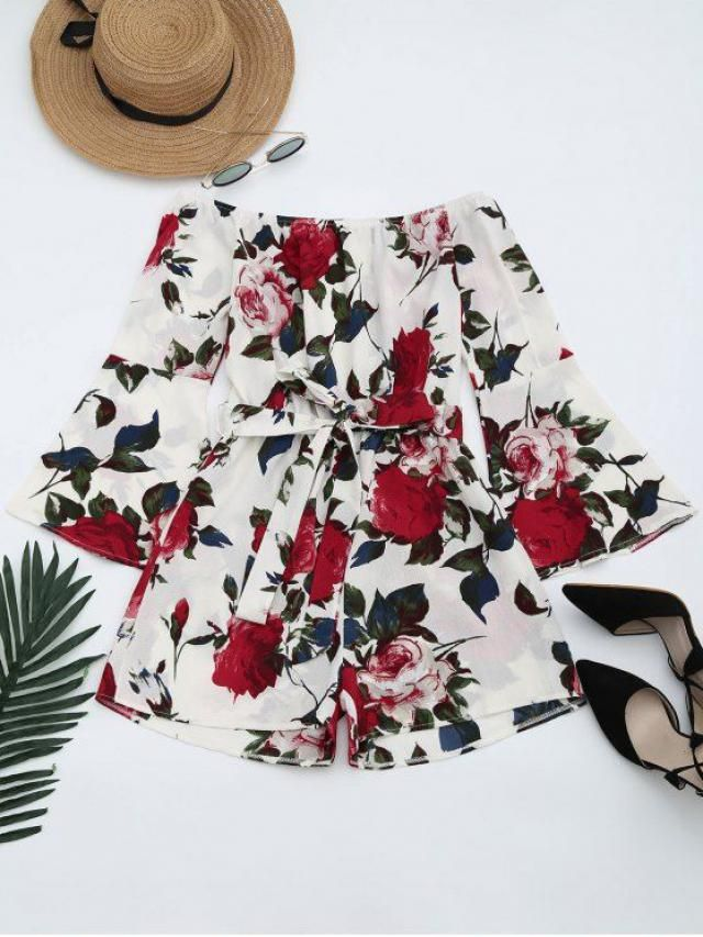 beautiful floral bluses in zaful