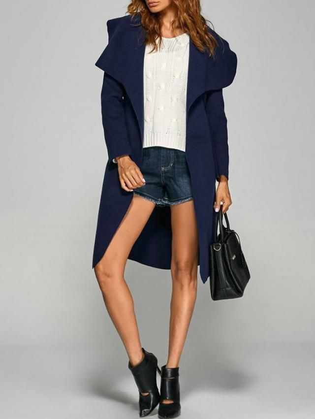 Blue coat for this winter...