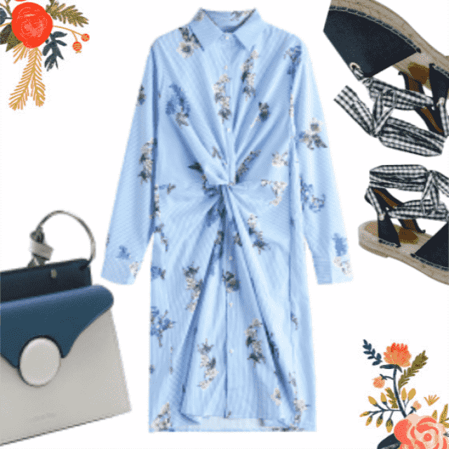 Cute blue combination for you !