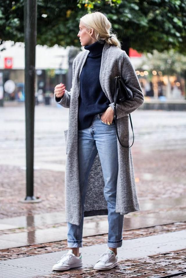 Shop here, long sweater, sneakers!!