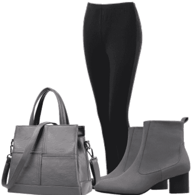 --Lovely and stylish outfit for work with adorable material are the best choice for work. Shoes and bag are grea…
