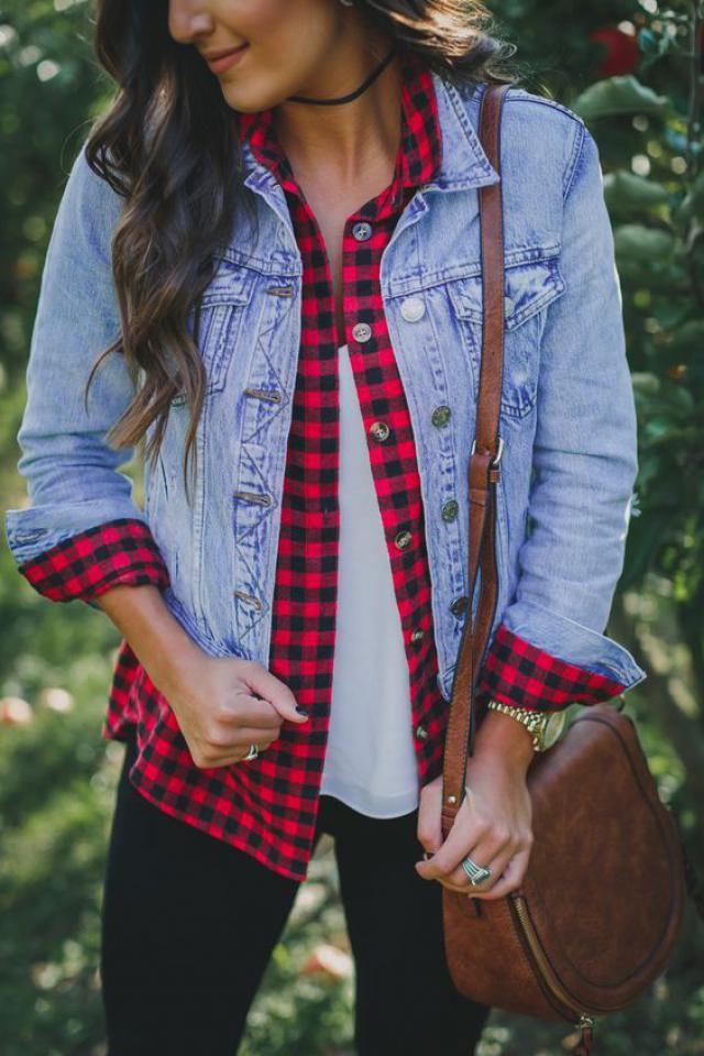 Denim jacket, women style!