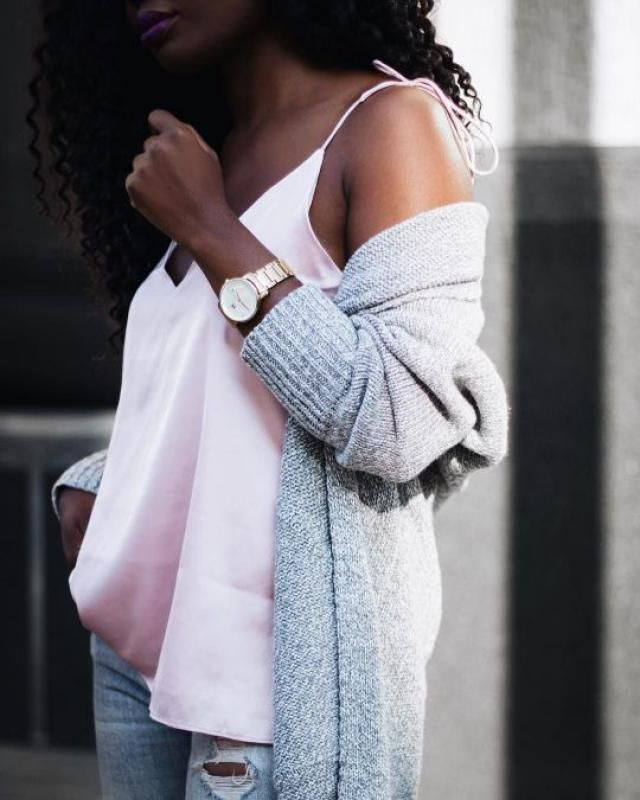 Pink & grey.