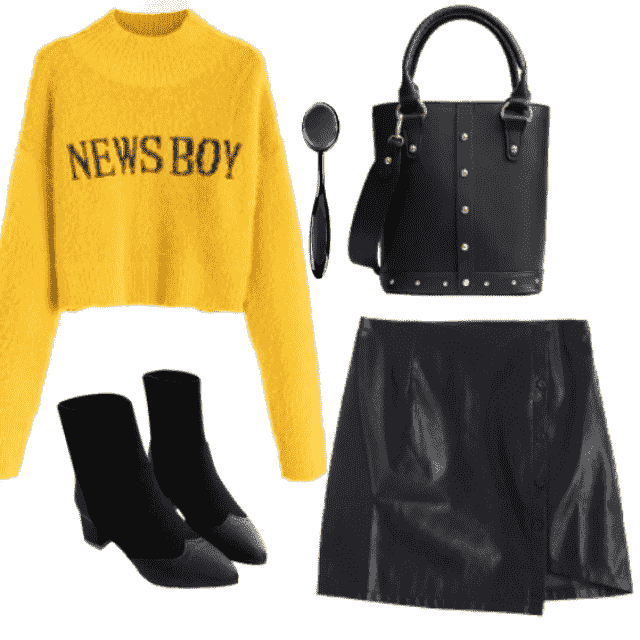 Cute style for day and evening!