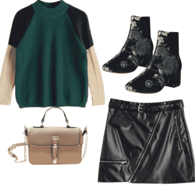 Amazing style for modern girl!