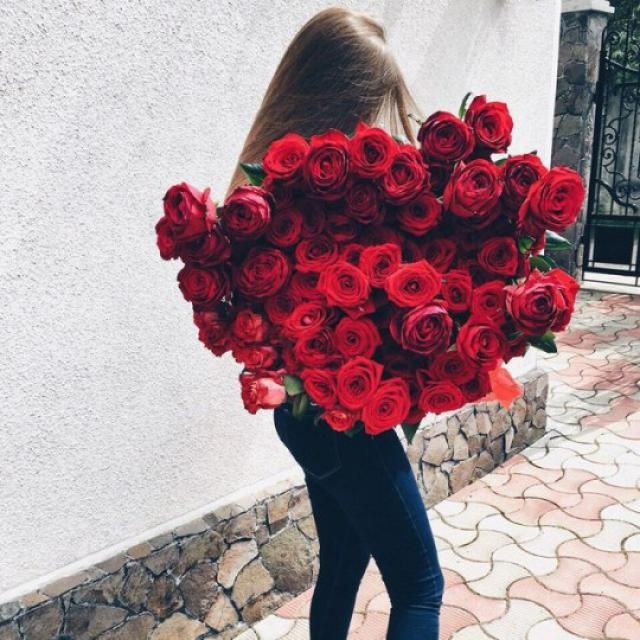 wake up with flowers next to you, yay or nay?