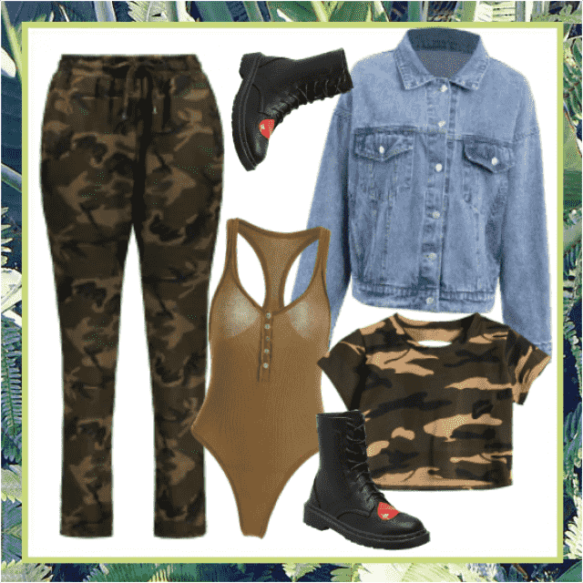 Cozy outfit - can wear it day and night. You can feel free and still be trendy!