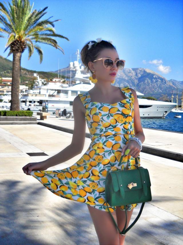 IG: tijamomcilovic Porto Montenegro   dress ,