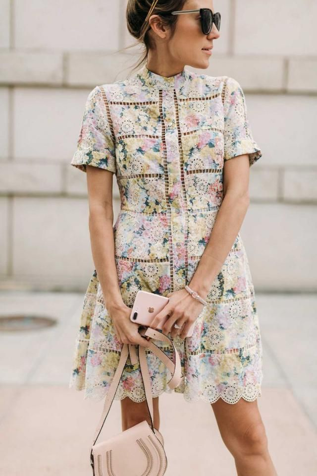 My favorite floral dress...