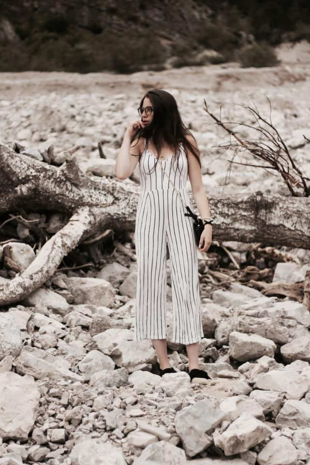 Stripes on a jumpsuit? My answer to that question is hell yes! What is your favourite print at the moment?