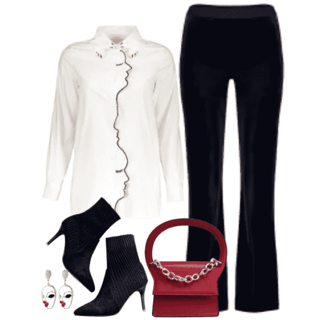 Day to night outfit ....