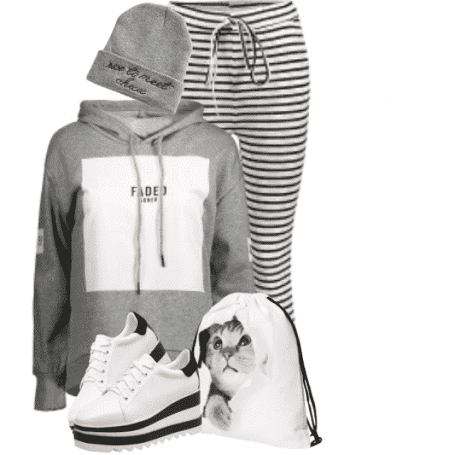 Trendy and stylish hoodie - beautiful for the modern streetstyle
