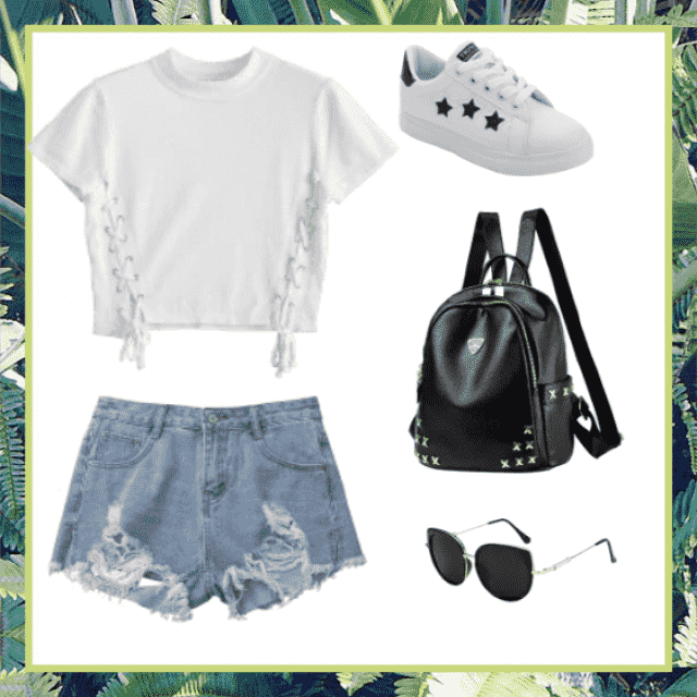 For a casual day out look, school or family fun day!