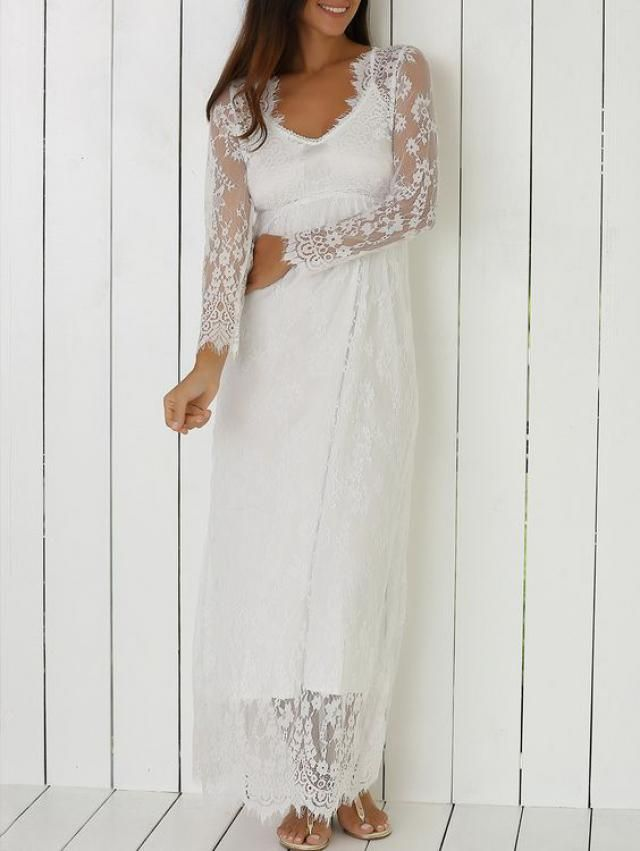 so sweet lace wedding dress for all the girls who do not like a lot of details