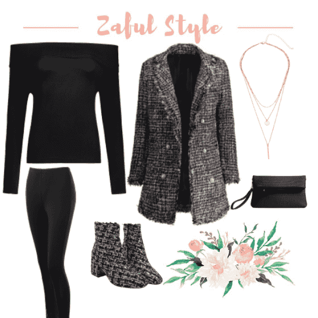Why not pair a cute pair of booties that match a cute coat! Since the two are both statement pieces keep the rest of th…