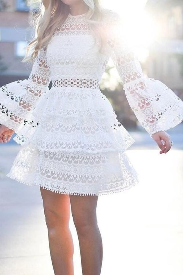Nice white dress