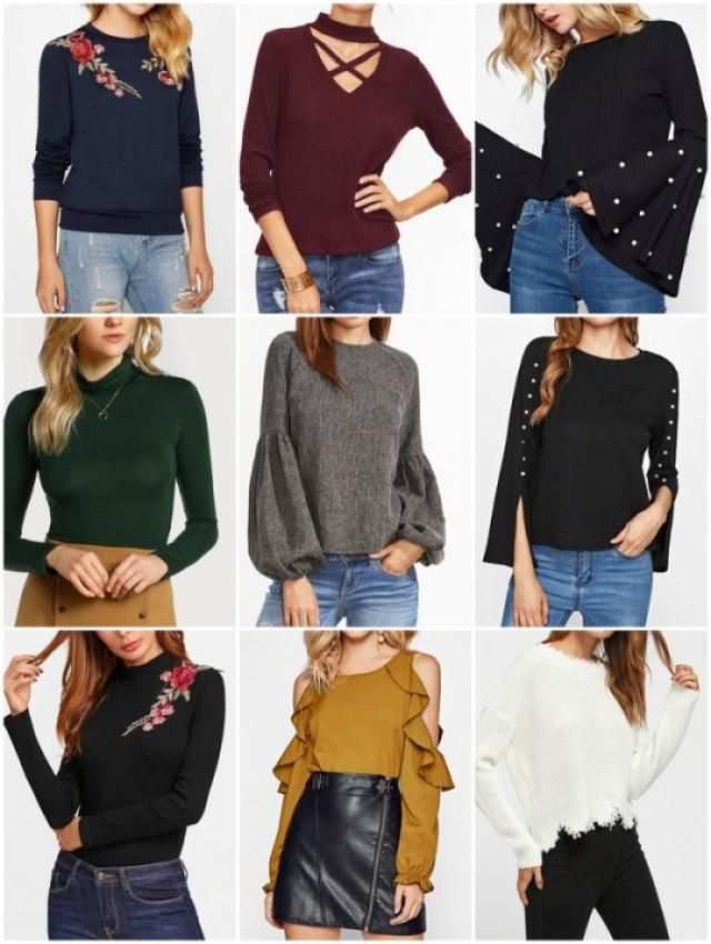 New beautiful sweaters