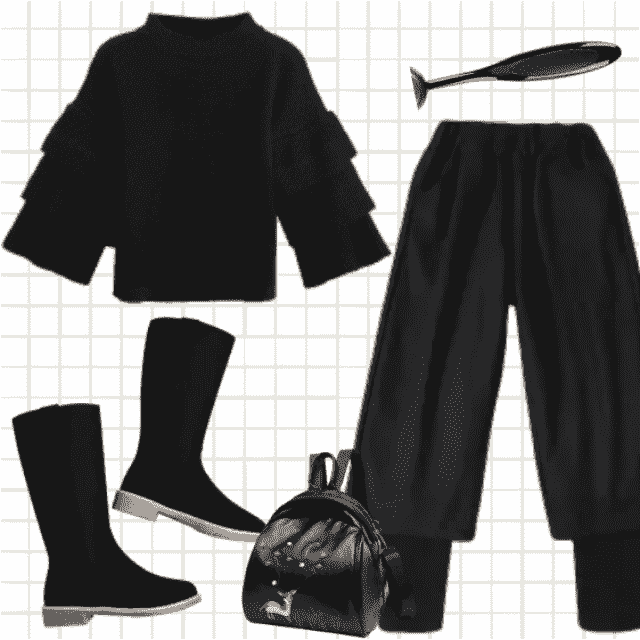 Cool and awesome styling, perfect for fall rainy days.