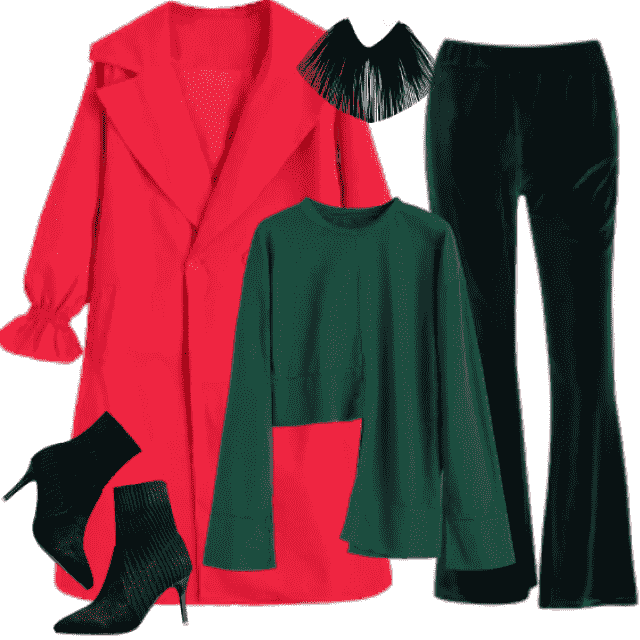 Colorful, interesting combinations of clothes makes you so visible those days.......... Elegant and chic, pa…