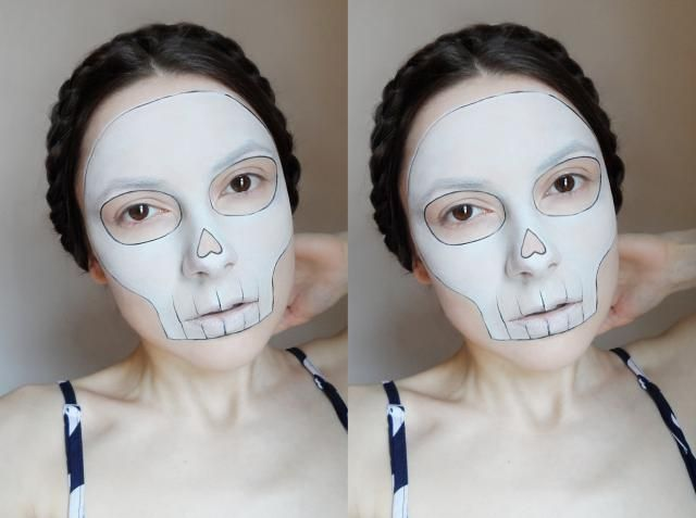 My minimal and easy makeup look for Halloween