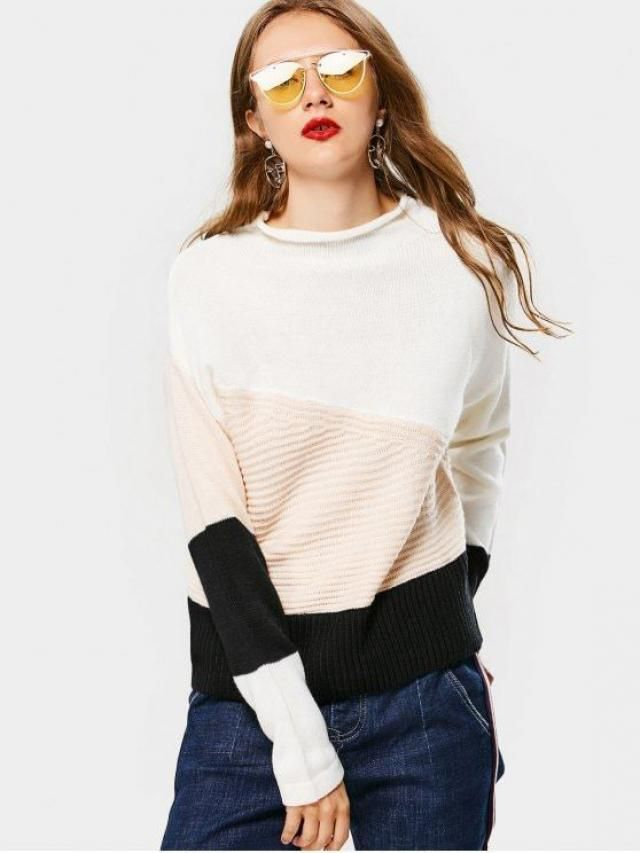 Lovely sweater.