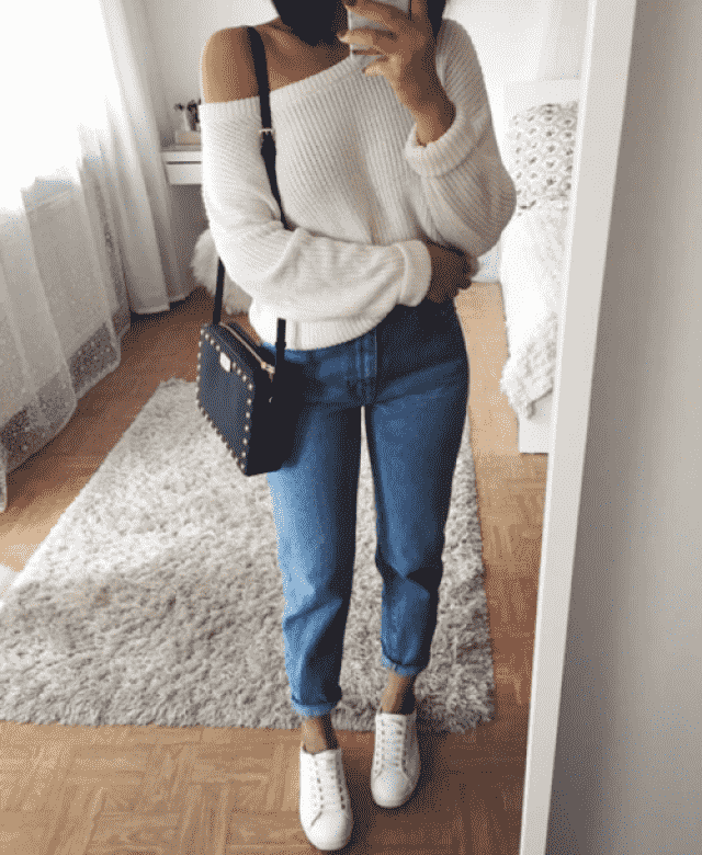 perfect stayle -sweater and jeans