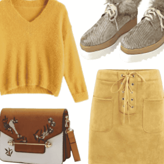 Different Styling Of Fall Skirts And Always Beautiful Colors          #