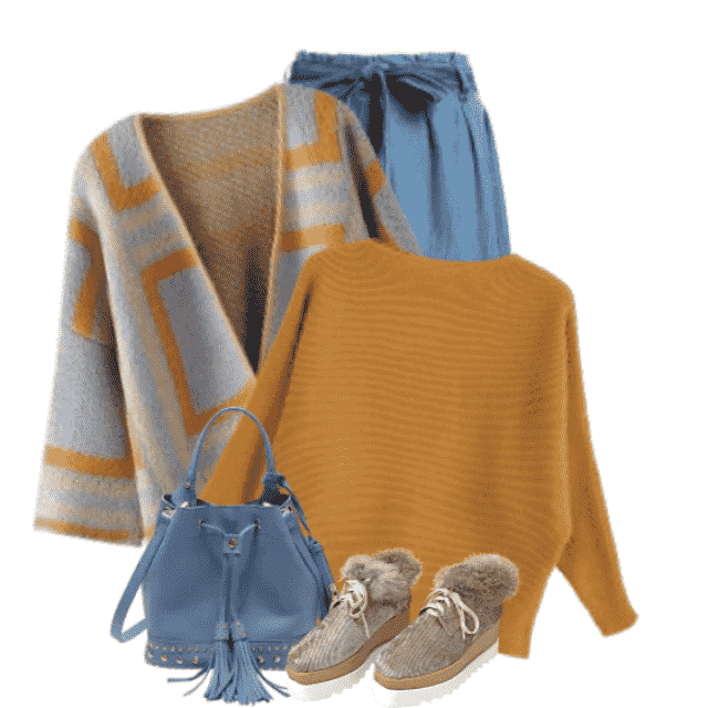 Comfortable and trendy Cardigan - perfect to wear in autumn