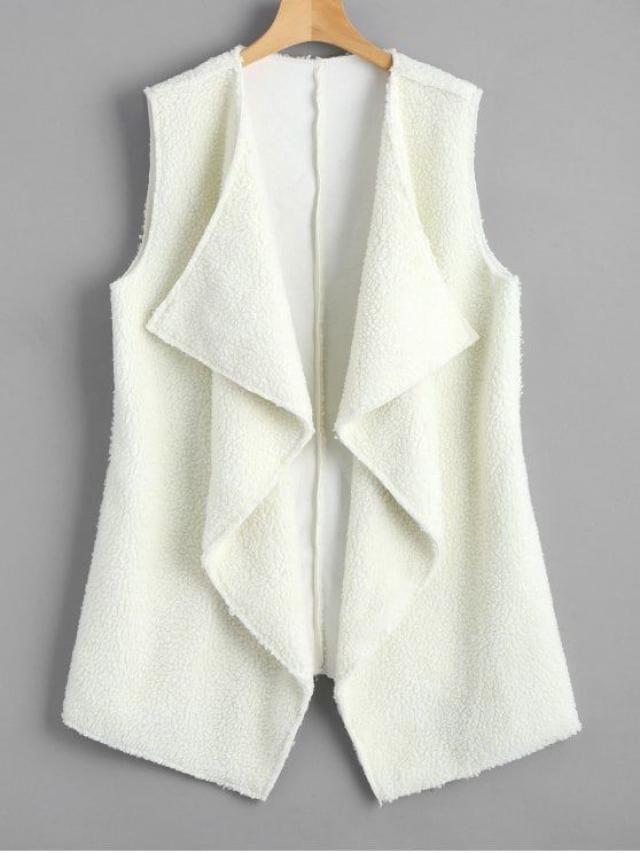beautiful white cardigan for winter