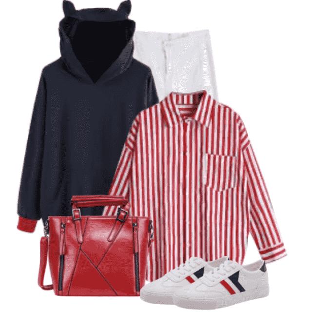 Fabulous trendy hoodie