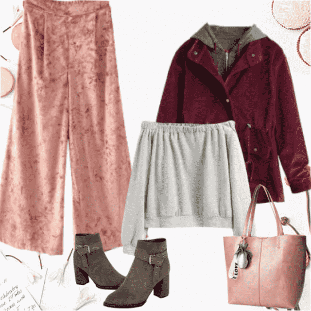 Cozy, gorgeous combinations - daily look!