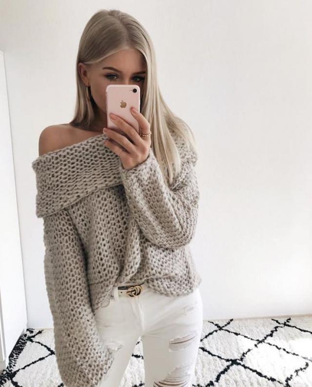 cute love the sweater     #