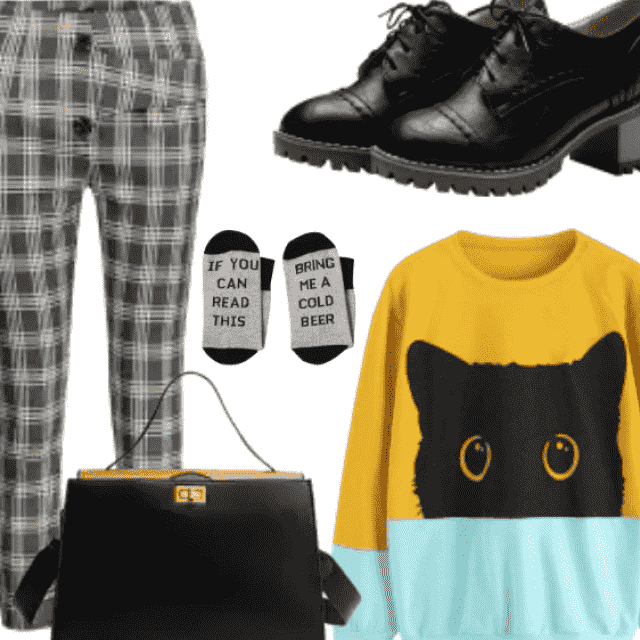 Library Chic Outfit , School Look