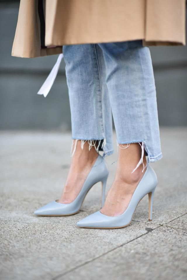 Jeans and Heels baby!