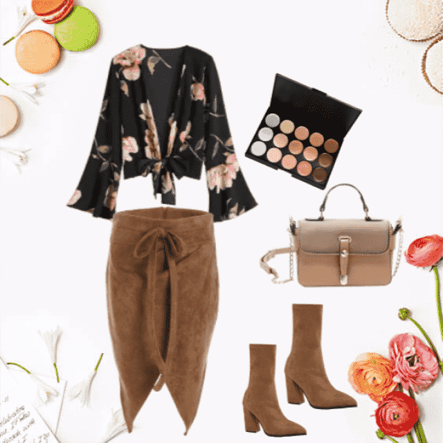 Autumn combination for relaxation