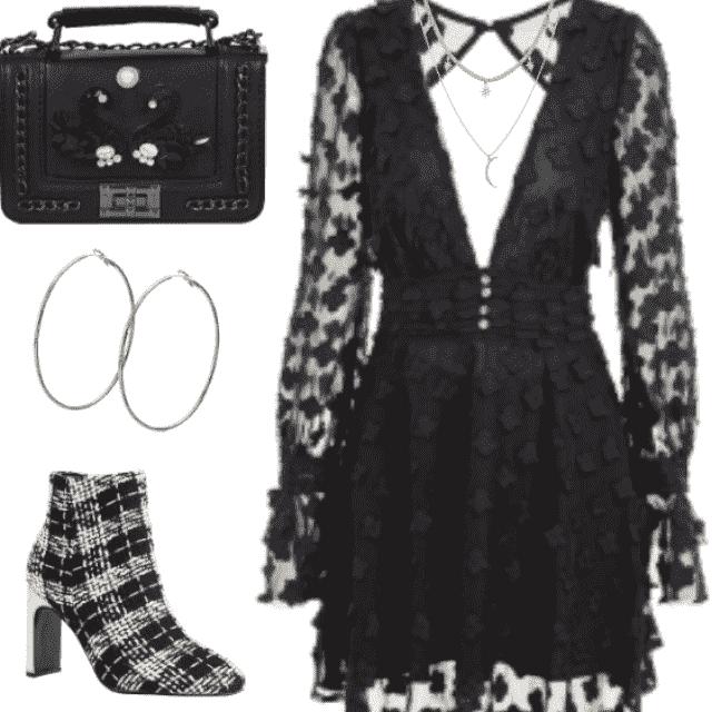 Black Elegant Outfit